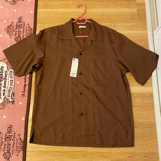 GU - GU オープンカラーシャツ 半袖シャツ