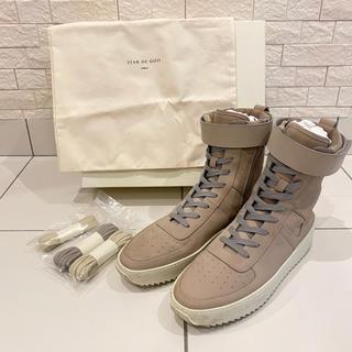 FEAR OF GOD - 美品 FEAR OF GOD フェアオブゴッド ミリタリー スニーカー 靴 45