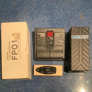 ズーム(Zoom)のZOOM 505 マルチエフェクター 専用ボリュームペダル チューナー 中古品(エフェクター)