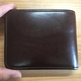 ガンゾ(GANZO)の【準定番品】WILDSWANS グラウンダー サドルプルアップ チョコ(折り財布)