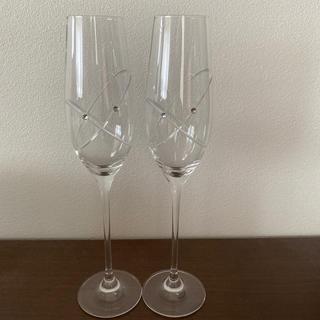 ウェッジウッド(WEDGWOOD)のウエッジウッド ペアシャンパングラス(シャンパン/スパークリングワイン)