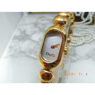 ドルチェアンドガッバーナ(DOLCE&GABBANA)のドルチェ&ガッバーナ D&G ピンクゴールドカラー ブレッス ウォッチ(腕時計)