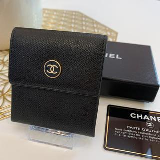 CHANEL - CHANEL シャネル 小銭入れ ギャランティ 箱付き ブラック