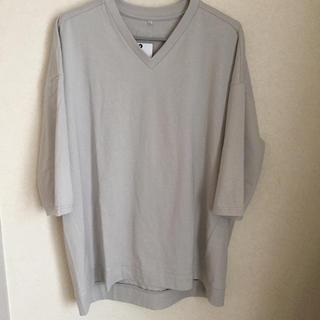 *ライトグレー Tシャツ  LL*(Tシャツ(半袖/袖なし))