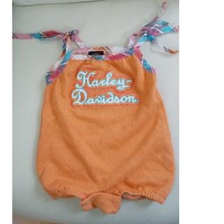 ハーレーダビッドソン(Harley Davidson)のHARLEY-DAVIDSON 赤ちゃん ロンパース(ロンパース)