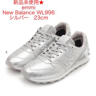 New Balance - 新品未使用★New Balance WL996 シルバー  23cm