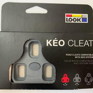 ルック(LOOK)のLOOK  KEOクリート 4.5° グレー色(パーツ)