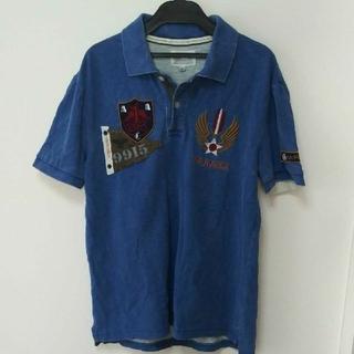 アヴィレックス(AVIREX)のアヴィレックス ワッペンポロシャツ(ポロシャツ)