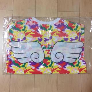 モモイロクローバーゼット(ももいろクローバーZ)のももクロ☆羽根付きTシャツ2017☆M(アイドルグッズ)