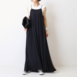DEUXIEME CLASSE - 新品■Sun Dress■ブラック■ドゥーズィエムクラス
