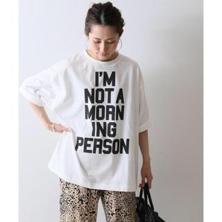 フレームワーク(FRAMeWORK)のフレームワーク ビックロゴTシャツ 新品未使用(Tシャツ/カットソー(半袖/袖なし))
