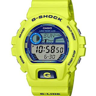 ジーショック(G-SHOCK)の[カシオ]CASIO G-SHOCK Gショック イエロー(腕時計(デジタル))
