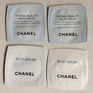 シャネル(CHANEL)のシャネル イドゥビューティマイクロセラム、ブルーセラム  4点(美容液)