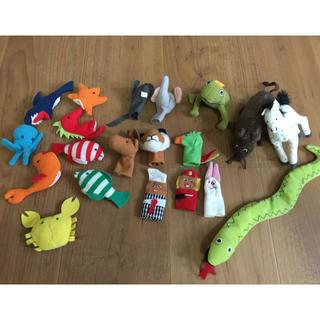 イケア(IKEA)のIKEA ぬいぐるみ&指人形(ぬいぐるみ/人形)