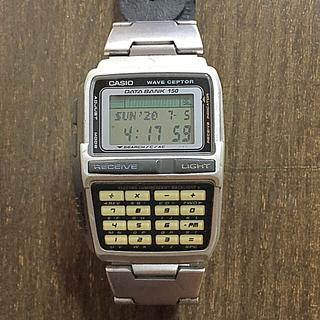 カシオ(CASIO)の【電波時計】CASIO DATABANK waveceptor 腕時計(腕時計(デジタル))