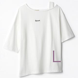しまむら - しまむら TERA Tシャツ てら てらさん しまコレ完売 L アシメT