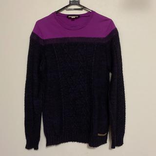 ディーゼル(DIESEL)のDIESEL ニット セーター 紫 S(ニット/セーター)