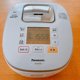Panasonic - 【2016年製】Panasonic 炊飯器 SR-HX105
