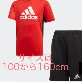 adidas - adidas 半袖 半ズボン セットアップ サイズは100から160cm