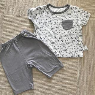 ユニクロ(UNIQLO)のユニクロ 半袖 パジャマ 90cm(パジャマ)