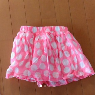 ユニクロ(UNIQLO)のディズニー風水玉模様の可愛いチュールスカート(スカート)
