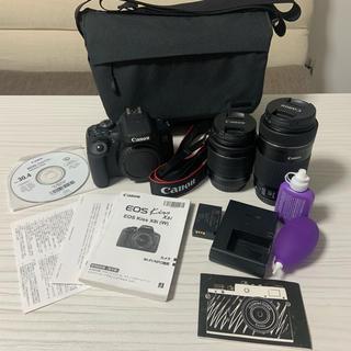 Canon - Canon EOS kiss X8i(w)★マイクロSD付き