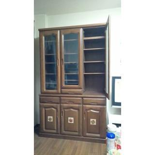 食器収納用飾り棚(キッチン収納)