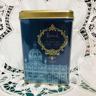 ハロッズ(Harrods)のハロッズアールグレイ紅茶50ティーバッグ 希少デザイン(茶)