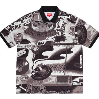 シュプリーム(Supreme)のSupreme Filtre Polo Black M(ポロシャツ)
