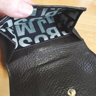 MARC BY MARC JACOBS - マークバイマークジェイコブス/二つ折り財布(ダークブラウン)