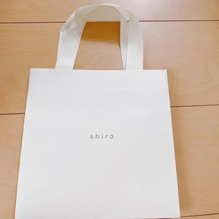 シロ(shiro)のshiro 紙袋 ショップ袋 ショッパー(ショップ袋)