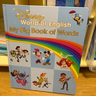 Disney - 絵辞書 My Big Book of Words ディズニー英語システム