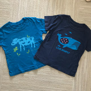 パタゴニア(patagonia)のパタゴニア 半袖 Tシャツ 2T  2枚セット(Tシャツ/カットソー)