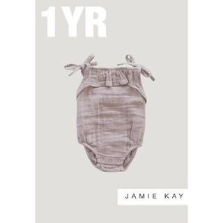 Caramel baby&child  - 【Jamie Kay】ジェイミーケイ オーガニックコットン モスリン ロンパース