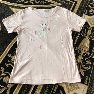 PINK HOUSE - ピンクハウス  猫Tシャツ