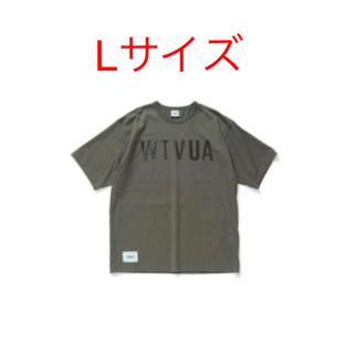W)taps - wtaps 18ss design Tシャツ Lサイズ グレー