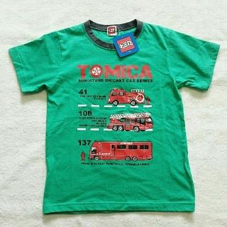タカラトミー(Takara Tomy)の☆期間限定価格☆ Tシャツ トミカ 消防車 130cm(Tシャツ/カットソー)