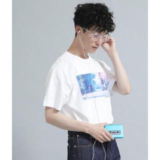 STUDIOUS - 【OTOT】新海誠×山崎まさよし 秒速5cm 音の聴こえるTシャツ