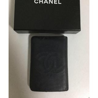 シャネル(CHANEL)のシャネル ココマーク カードケース  パスケース 名刺入れ(名刺入れ/定期入れ)