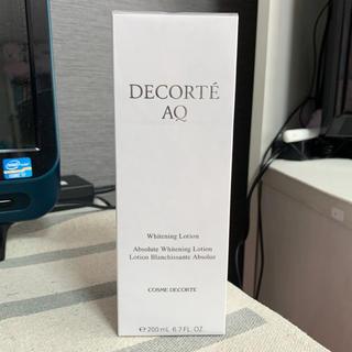 コスメデコルテ(COSME DECORTE)の新品!コスメデコルテ♡AQ ホワイトニング ローション(化粧水/ローション)