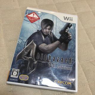 Wii - バイオハザード4 Wiiエディション Wii