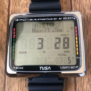ツサ(TUSA)のTUSAダイブコンピューター IQ-850 ダイブ本数5本 極上美品 電池交換済(マリン/スイミング)