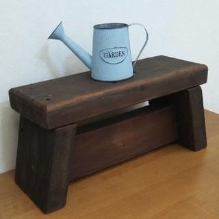 踏み台 アンティーク  スツール ハートの節穴(家具)
