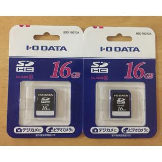 アイオーデータ(IODATA)の【I・O DATA】SDHCメモリーカード 2枚(PC周辺機器)