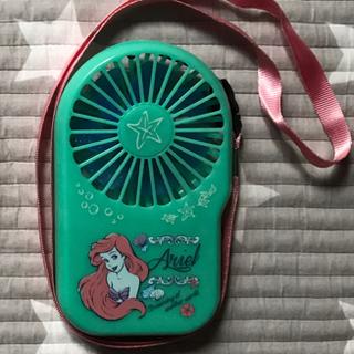 ディズニー(Disney)の最終価格 二個セット アリエル ハンディーファン(扇風機)