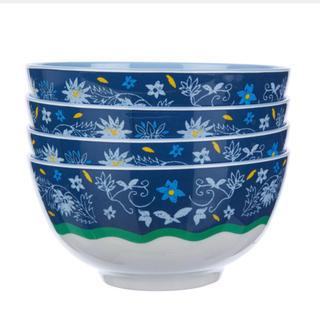 ローラアシュレイ(LAURA ASHLEY)の新品♡ローラアシュレイ Melamine Bowls Set Of 4(食器)