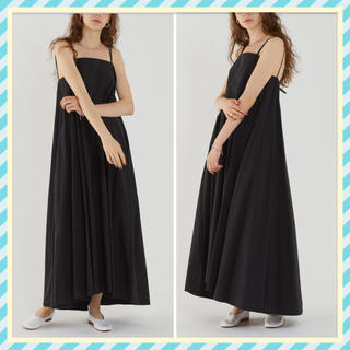 Drawer - SAYAKA DAVIS❤️M Strap Dress Black Drawer