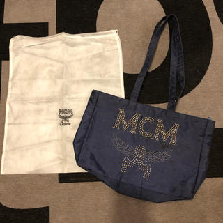 MCM - MCM エムシーエム ナイロン トートバッグ レア 大きめ