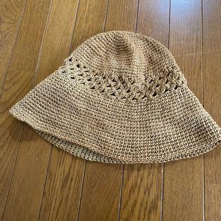 ムジルシリョウヒン(MUJI (無印良品))の帽子(麦わら帽子/ストローハット)