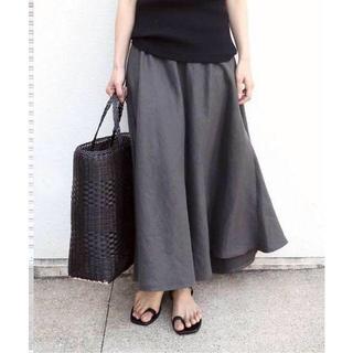 ドゥーズィエムクラス(DEUXIEME CLASSE)の新品タグ付 Deuxieme Classe アササルファーゾメスカート 34(ロングスカート)